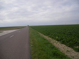 Allibaudières - Landscape between Allibaudières and Salon
