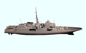FREMM multipurpose frigate - French version of the FREMM
