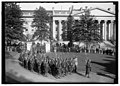 FRENCH LEGIONNAIRES. ENTERING WHITE HOUSE GROUNDS LCCN2016869487.jpg