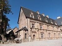 Façade de l'aile nord du château.JPG