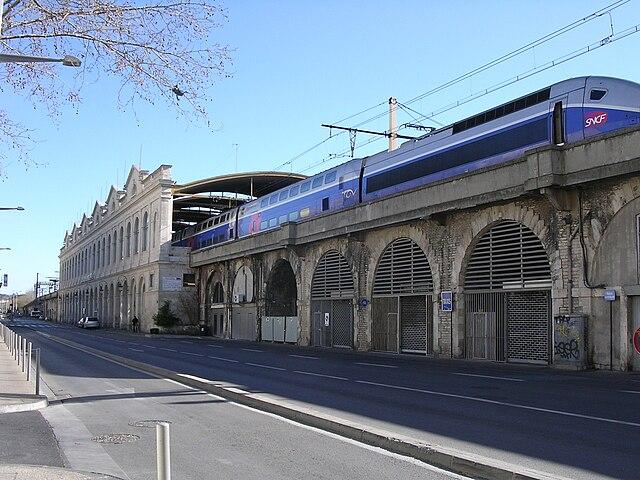 Bus Gare Sete Centre Ville