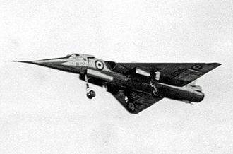 Droop-nose - Fairey FD2