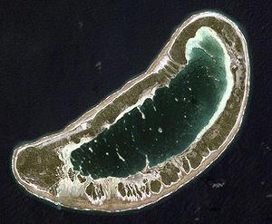 Fangatau - NASA picture of Fangatau Atoll