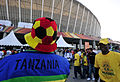 Fans before Brazil & Portugal match at World Cup 2010-06-25 8.jpg