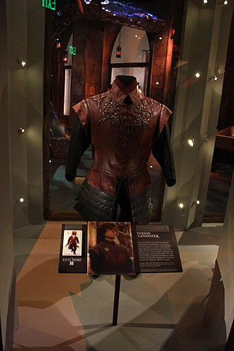 Tyrion Lannister - A costume worn by Peter Dinklage in the TV series Game of Thrones