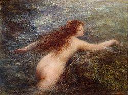 FANTIN-Latour Henri (1836-1904) Naïade
