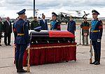 Farewell to the body of Alexander Prohorenko on Chkalauski airfield 04.jpg