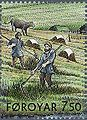 Faroe stamp 516 everyday life in the viking age.jpg