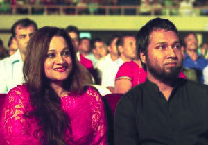 Gaan Bangla - Kaushik Hossain Taposh and Farzana Munny during the launch of Gaan Bangla TV