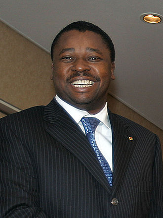 Togolese presidential election, 2010 - Image: Faure Gnassingbé 29112006