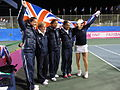 Fed Cup Group I 2012 Europe Africa day 4 Great Britain Fed Cup Team 001.JPG