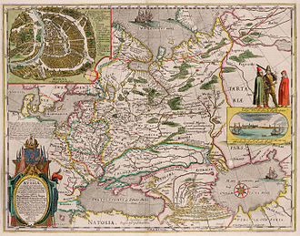 "Name of Georgia (country) - ""Map of Russia"" commissioned by Feodor II of Russia and published by Hessel Gerritsz in Amsterdam mentions ""Iveria sive Grusinæ Imperium"" i.e. Iberia or the Empire of Georgia."