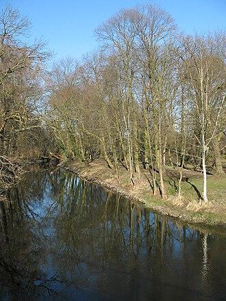 Rhin - Image: Fehrbellin Wustrauer Rhin