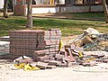 Few bricks shy a load, on the streets of Ashdod, Israel - panoramio.jpg