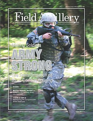 Field Artillery (magazine) - January – February 2007 cover