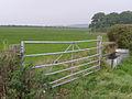 Field and gate west of Hampton Barn - geograph.org.uk - 242743.jpg