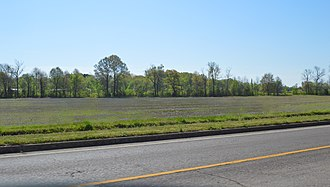 National Register of Historic Places listings in Alcorn County, Mississippi - Image: Fields east of Fulton in Corinth