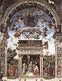 Filippino lippi, cappella carafa, assunzione e annunciazione.jpg
