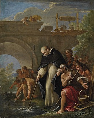 Filippo Lauri - Miracle of St Vincent Ferrer