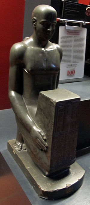 Psamtikseneb - Image: Fine xxvi dinastia, statua del medico psammeticosenets, 570 520 ac. ca 02