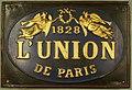 Fire mark for L'Union Compagnie d'Assurances Contre l'Incendie, les Accidents et Risques Divers in Paris, France.jpg