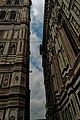 Firenze - Florence - Piazza del Duomo - View West & Up along the outside surface of the Duomo.jpg