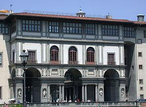 Giorgio Vasari - The Uffizi Loggia
