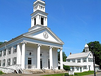 Plymouth, Connecticut - First Congregational Church, Plymouth, Connecticut