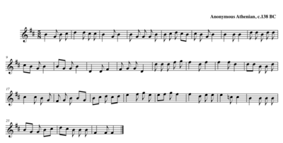 ancient greek musicedit