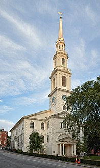 First Baptist Church in America United States historic place