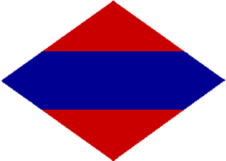First Canadian Army - Formation patch worn by army-level personnel.