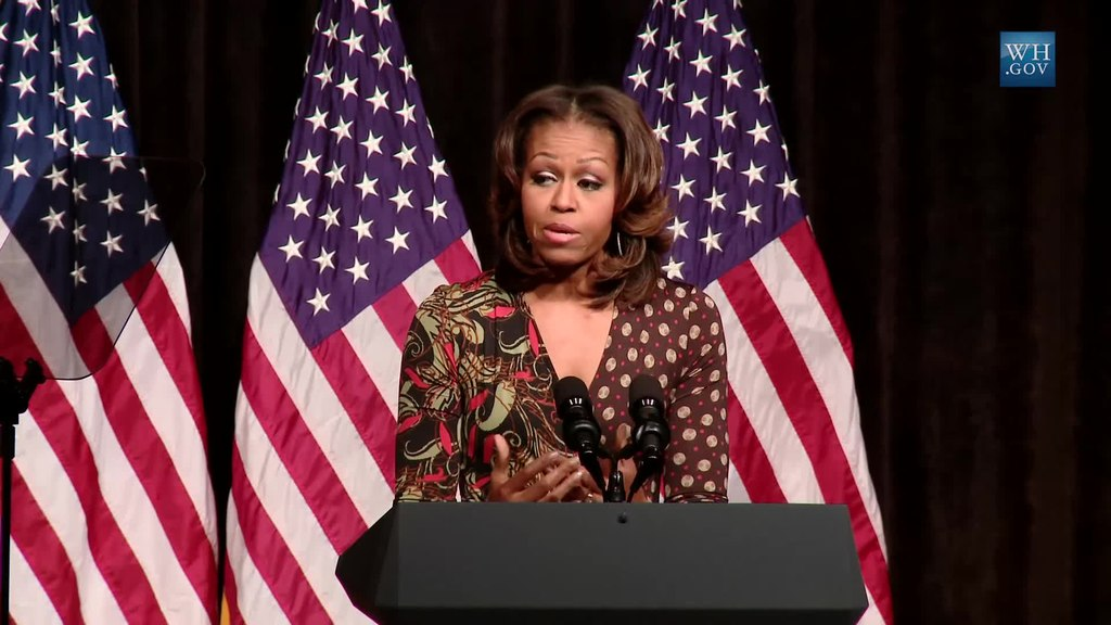 file first lady michelle obama speaks on the power of