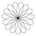 Five 3 Petal roses.png