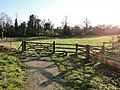Five barred gate and stile onto a footpath - geograph.org.uk - 2270244.jpg