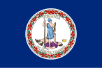 Flag of Virginia (January 31, 1861)