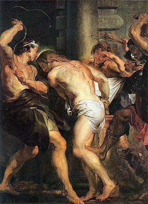 Flagellation of Christ - Flagellation of Christ by Rubens