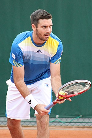 Colin Fleming - Fleming at 2013 French Open.