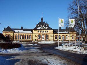 Flen - Image: Flens railwaystation 2011