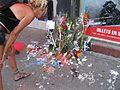 Fleurs devant le Metropolis.JPG