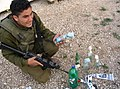 Flickr - Israel Defense Forces - Palestinian Youth Found with Materials for Molotov Cocktails.jpg