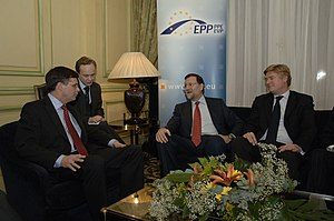 Mariano Rajoy - Rajoy at the EPP convention on climate change in February 2008