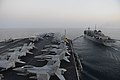Flight deck of USS Harry S. Truman (CVN-75) in 2014.JPG