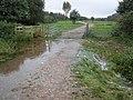 Flooded path, near Double locks - geograph.org.uk - 993655.jpg