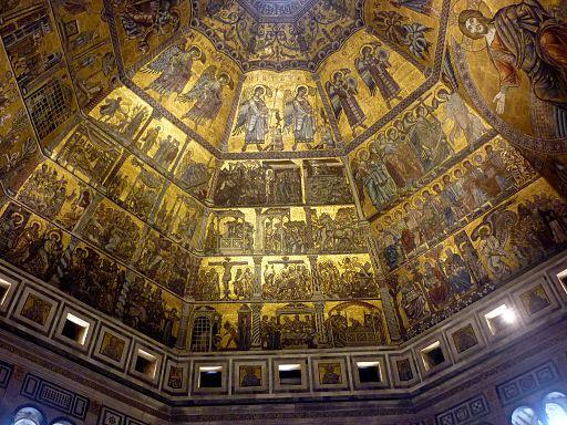 Florenz Baptisterium, von innen