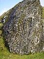 Folded Metamorphic Rock on Tarmachan Ridge in Scotland 1.jpg