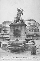 La fontaine Caffarelli en 1910