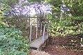Footbridge before the London Beach Golf Course - geograph.org.uk - 1531483.jpg