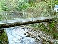 Footbridge on the river Giedd - geograph.org.uk - 257633.jpg