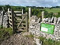 Footpath - Entering Lathkill Dale National Nature Reserve - geograph.org.uk - 558680.jpg