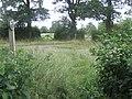 Footpath crosses Snughorse Lane - geograph.org.uk - 1421882.jpg